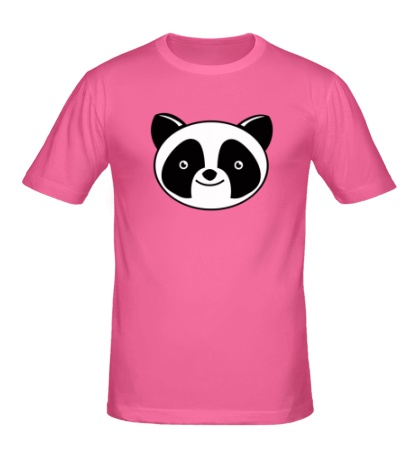 Мужская футболка Мордашка панды