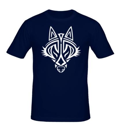 Мужская футболка Волчий символ