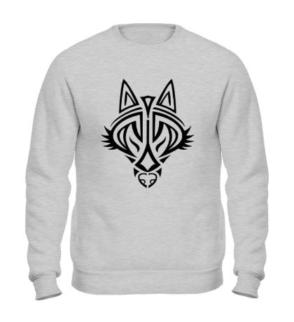 Свитшот Волчий символ
