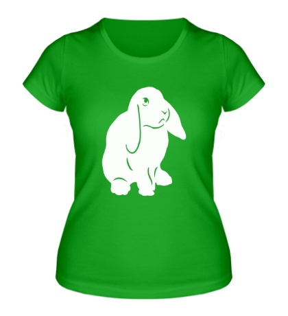 Женская футболка Крольчонок