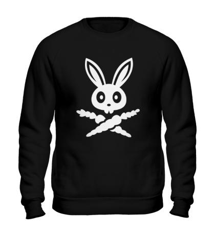 Свитшот Кролик-пират