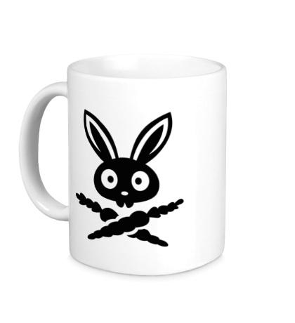 Керамическая кружка Кролик-пират