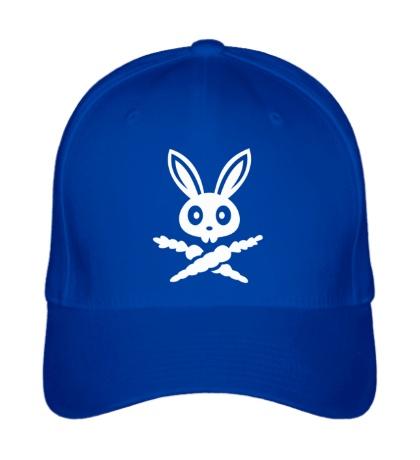 Бейсболка Кролик-пират