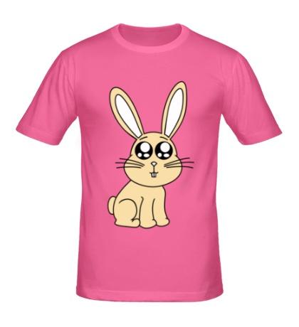 Мужская футболка Милый зайчонок