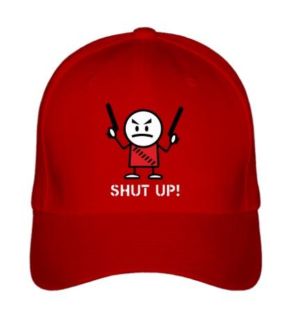 Бейсболка Shut up
