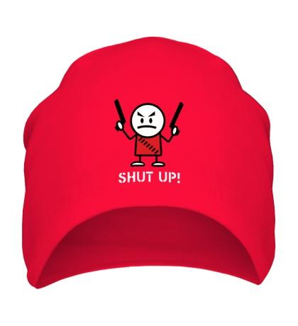 Шапка Shut up