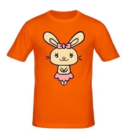 Мужская футболка Зайка девочка