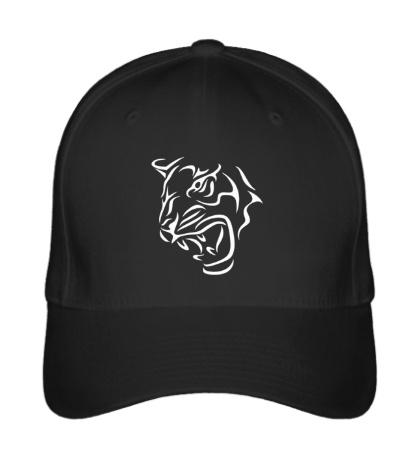 Бейсболка Тату голова тигра
