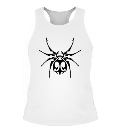 Мужская борцовка Тату паук