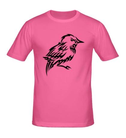Мужская футболка Тату птица