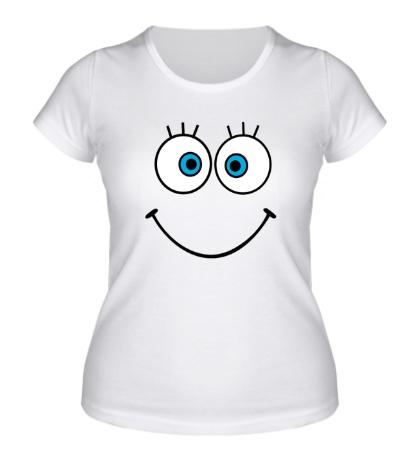 Женская футболка Глазастая рожица