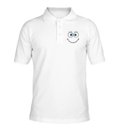 Рубашка поло Глазастая рожица