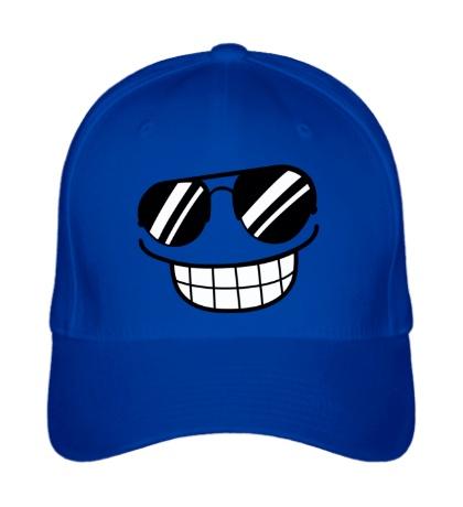 Бейсболка Смайл в солнцезащитных очках
