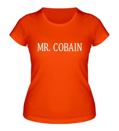 Женская футболка Mr. Cobain