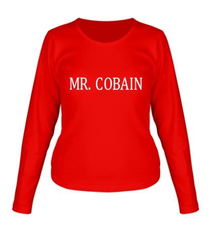 Женский лонгслив Mr. Cobain