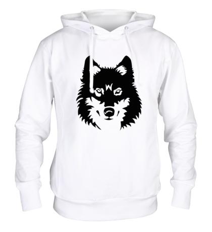 Толстовка с капюшоном Северный волк