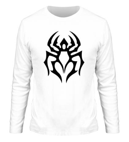 Мужской лонгслив Символ паука