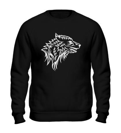 Свитшот Тату волк