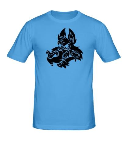 Мужская футболка Собачья морда