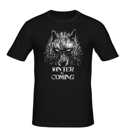 Мужская футболка Winter is Coming: Wild Wolf