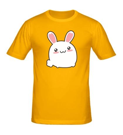 Мужская футболка Милый зайчик