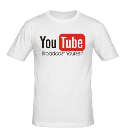 Мужская футболка You Tube