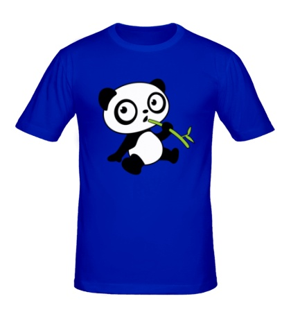 Мужская футболка Панда малыш