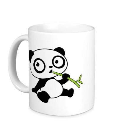 Керамическая кружка Панда малыш