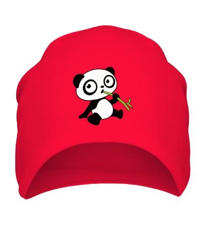 Шапка Панда малыш