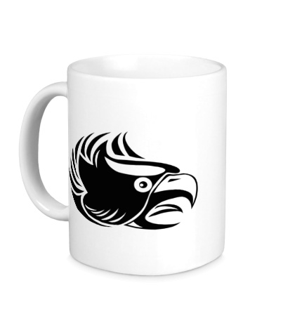 Керамическая кружка Злой орел