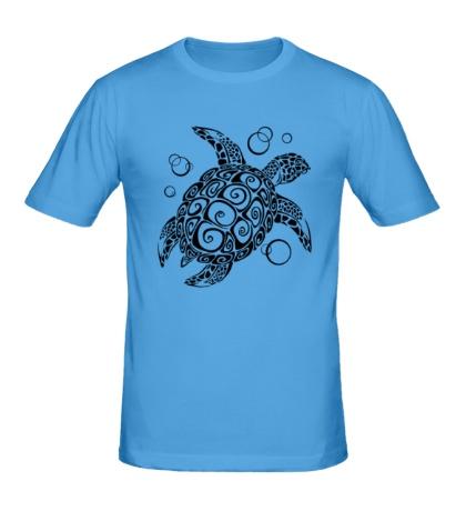 Мужская футболка Морская черепашка