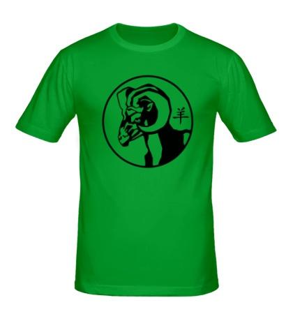 Мужская футболка Символ овна