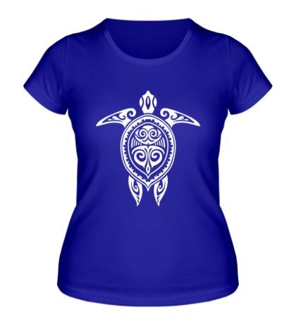 Женская футболка Расписная черепаха