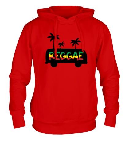 Толстовка с капюшоном Reggae
