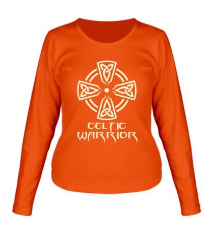Женский лонгслив Celtic Warrior Glow