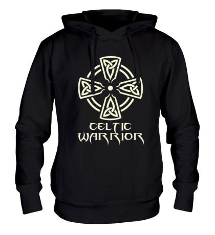 Толстовка с капюшоном Celtic Warrior Glow