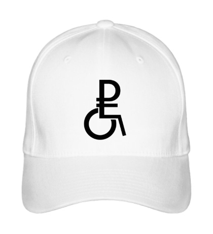Бейсболка Рубль в коляске
