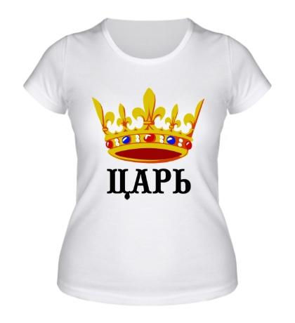 Женская футболка Царь