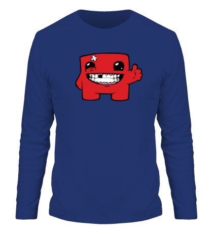 Мужской лонгслив Super Meat Boy