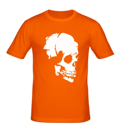 Мужская футболка Древний череп