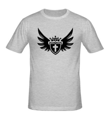 Мужская футболка Щит веры