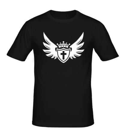 Мужская футболка «Щит веры»