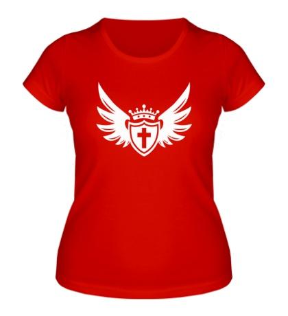 Женская футболка Щит веры