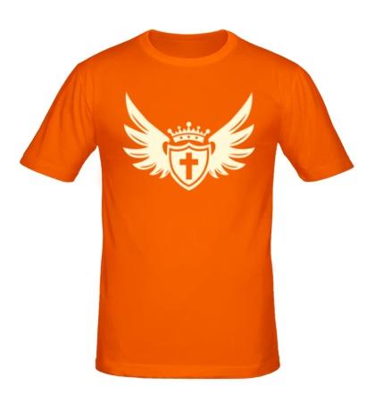 Мужская футболка Щит веры свет