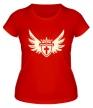 Женская футболка «Щит веры свет» - Фото 1