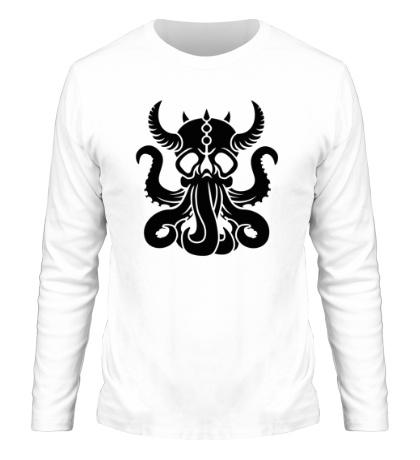 Мужской лонгслив Морской демон