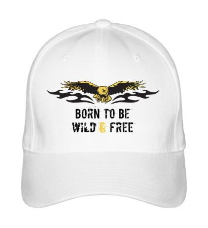 Бейсболка Born to be wild & free