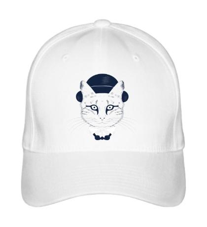 Бейсболка Кот в шляпе