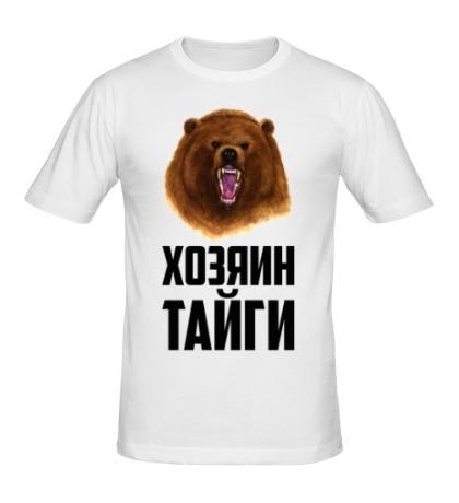 Мужская футболка Хозяин тайги