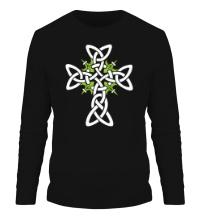 Мужской лонгслив Кельтский плетеный крест
